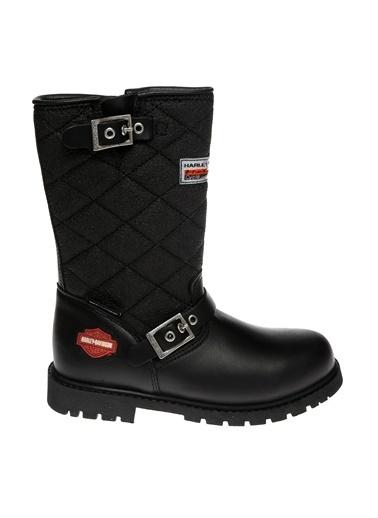 Harley Davidson Çizme Siyah